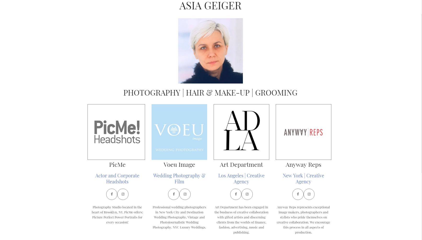 PHOTOGRAPHY | HAIR & MAKE-UP | GROOMING