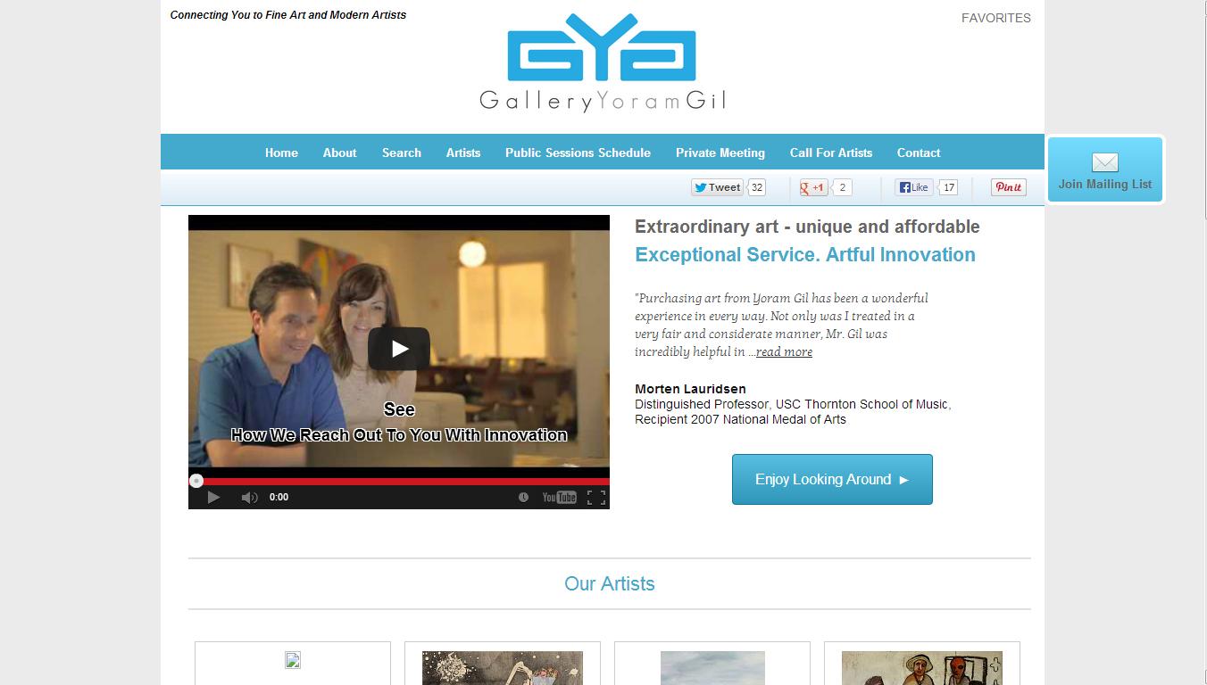 Art Dealer and Online Gallery